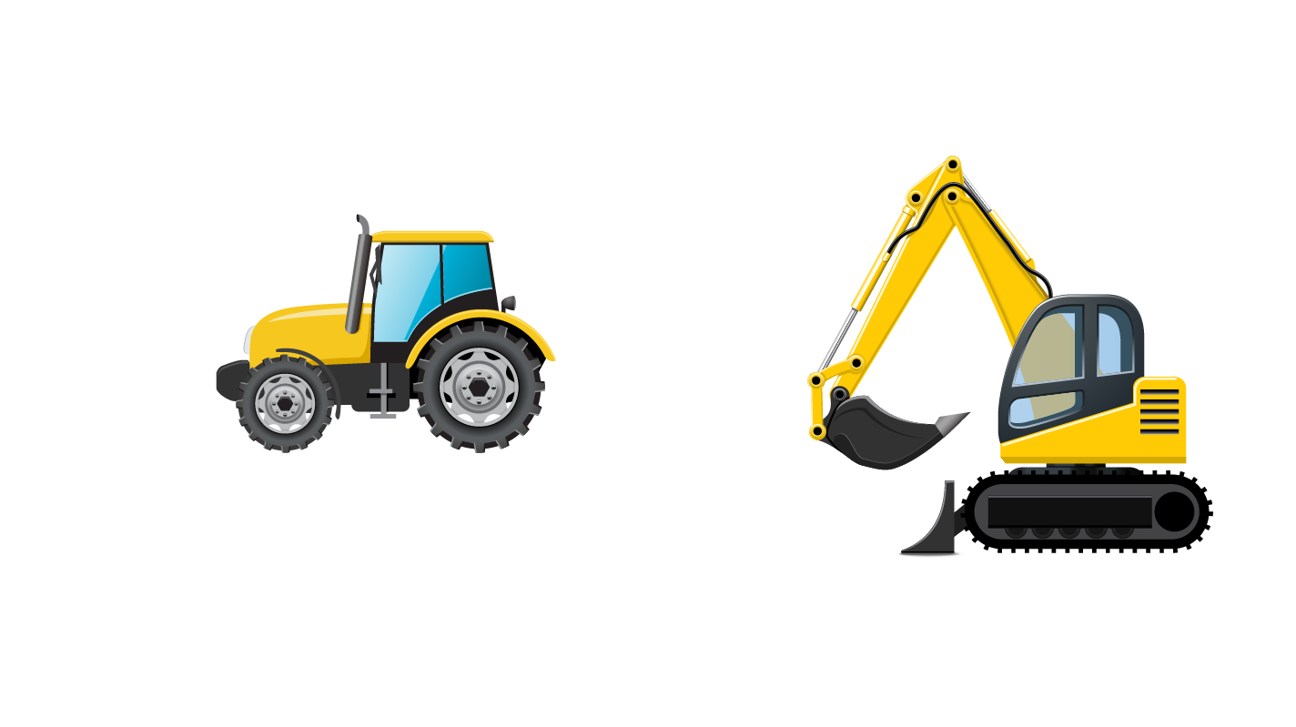 jpg library stock Architectural engineering vehicle car. Bulldozer clipart truck.