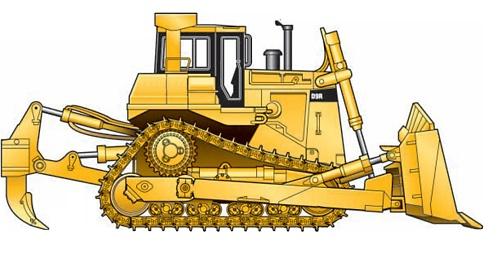 vector stock Bulldozer clipart vector. Collection of free dozed.
