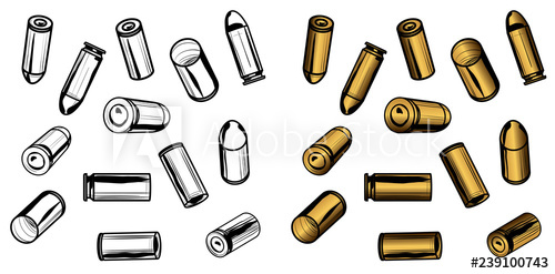 banner freeuse download  bullets and spent. Bullet casing clipart.