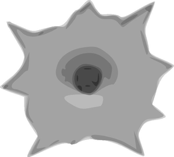 jpg stock Bullet clipart animated. Hole clip art at