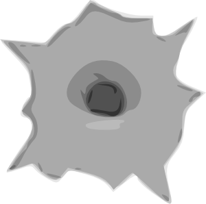 image free download Bullet clipart clear background. Hole clip art at