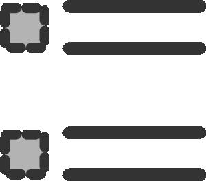 graphic transparent download Point at clker com. Bullet clipart clip art