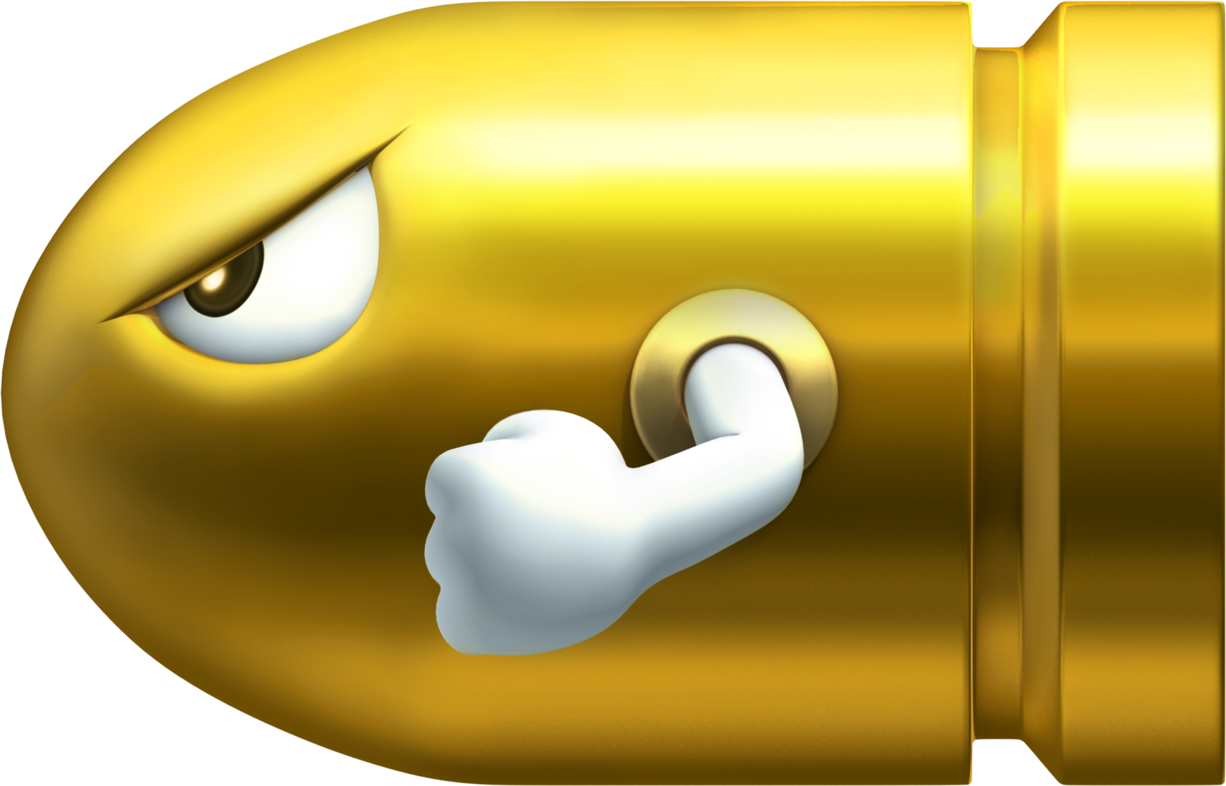 vector royalty free library Bullet clipart super mario bros. Image gold bill png.