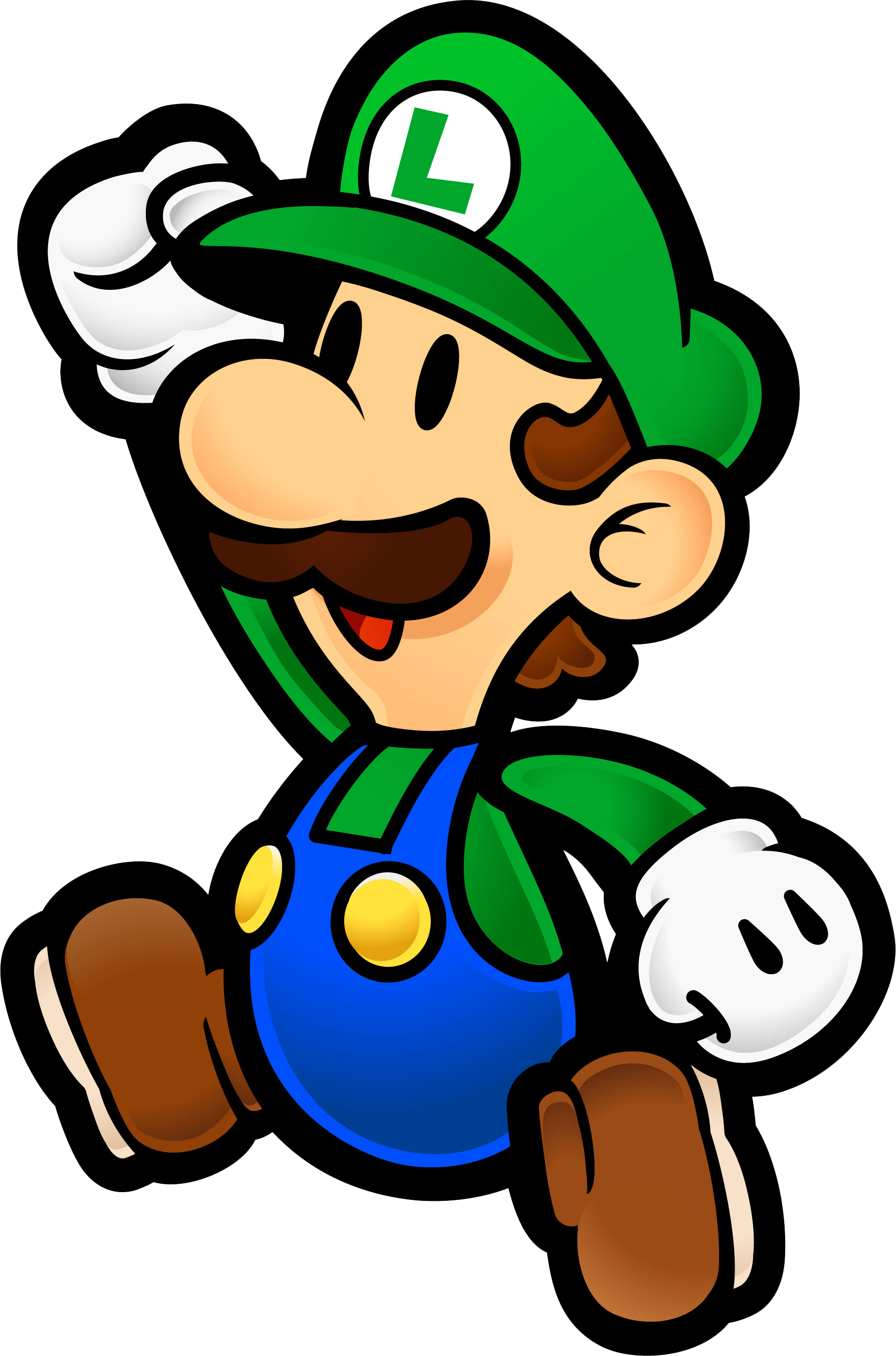 clipart black and white stock Mario Luigi Clipart at GetDrawings