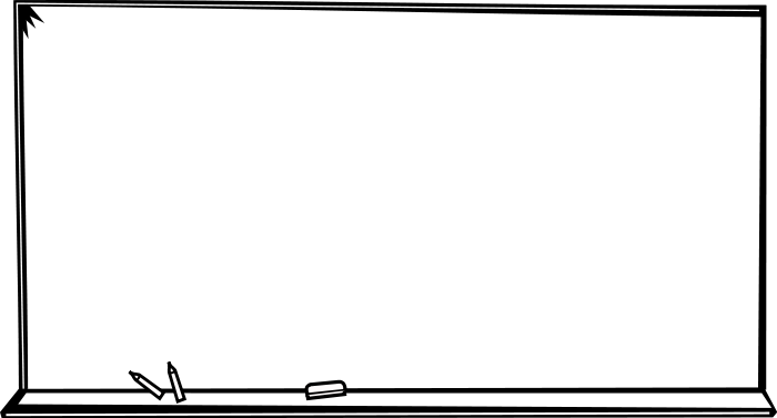 jpg black and white download Free Chalkboard Clipart