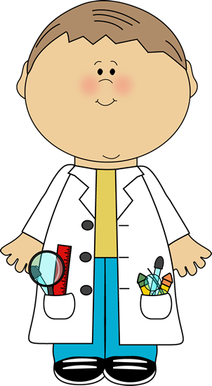 jpg freeuse Kid scientist classroom bulletin. Librarian clipart school personnel.