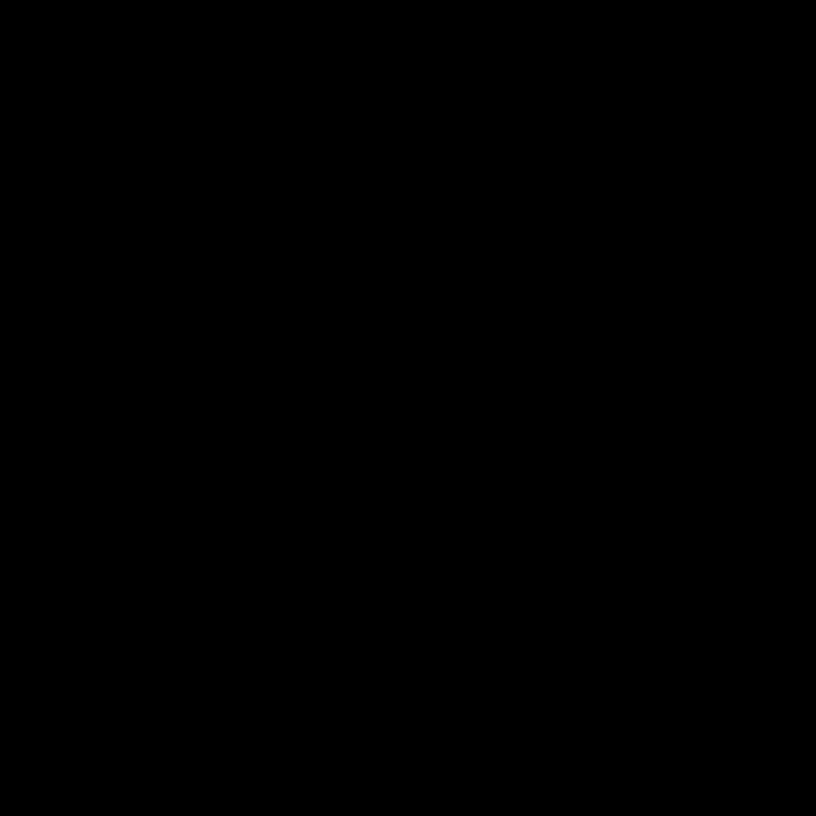 clip art black and white List View Icon