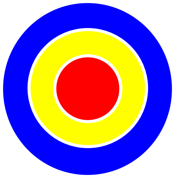 jpg free library Bullseye clipart.  ring bulls eye