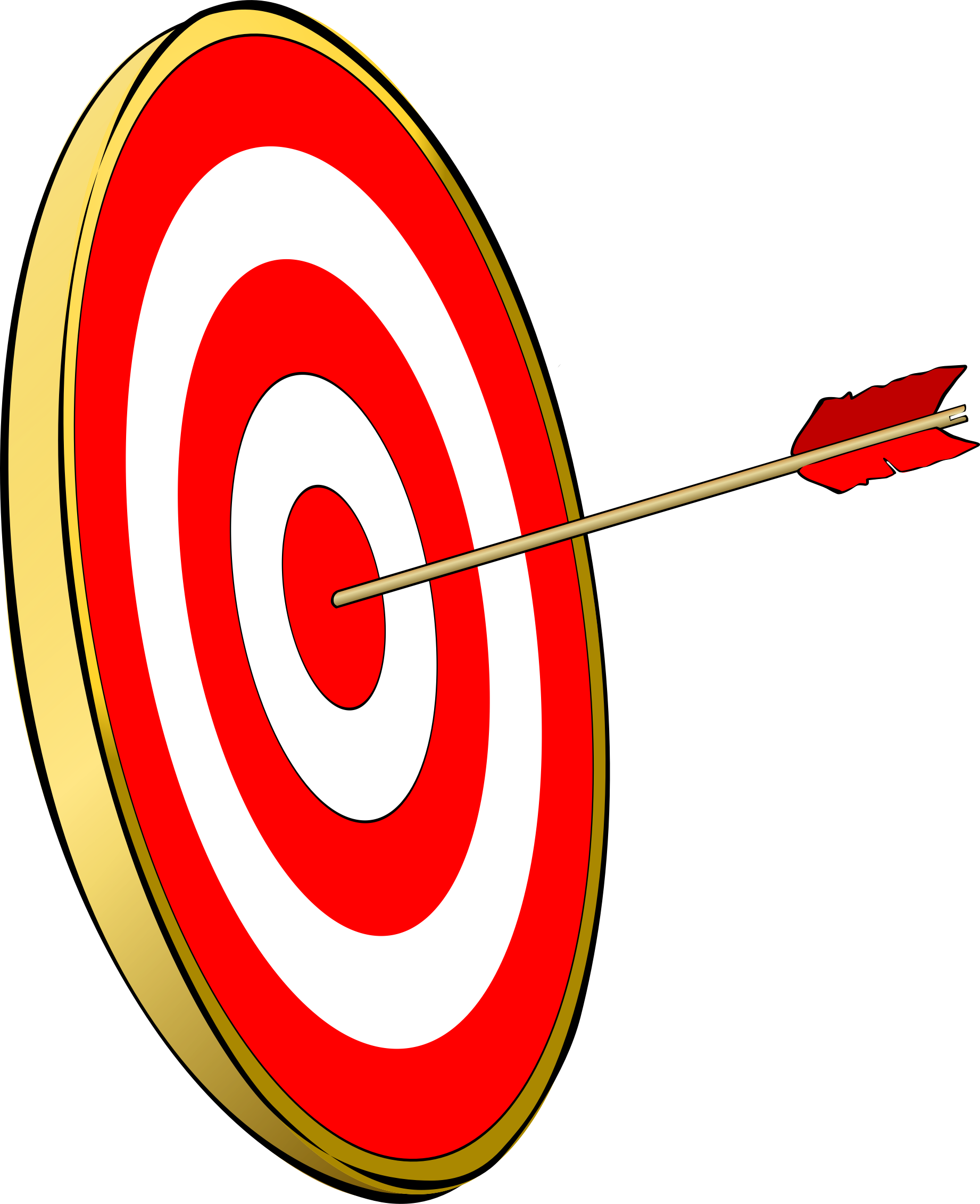 graphic freeuse library Bullseye clipart. Big image png