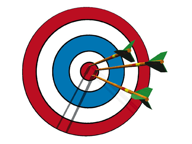 graphic royalty free library Free download . Bullseye clipart clip art