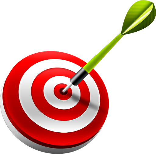 image library Target by graphicsfuel icon. Bullseye clipart dart.