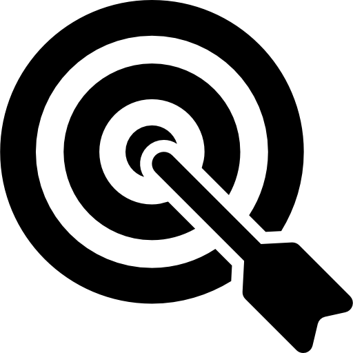 clip art transparent library Bullseye clipart goal. Targeta aim purpose success