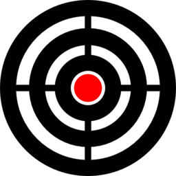 png royalty free download Bullseye clipart laser tag. Zielscheibe target aim shooting