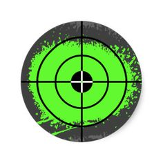 graphic black and white stock Bullseye clipart laser tag. Transparent