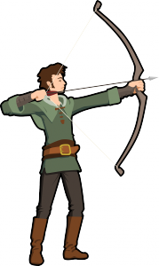 clip royalty free Bullseye clipart medieval archery. Competitive equipment you need