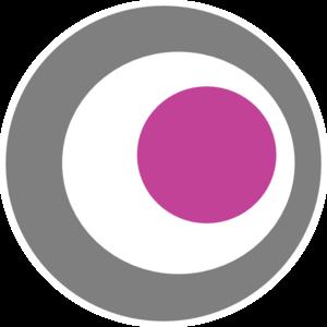 vector black and white stock Bullseye clipart purple. Animated clip art .