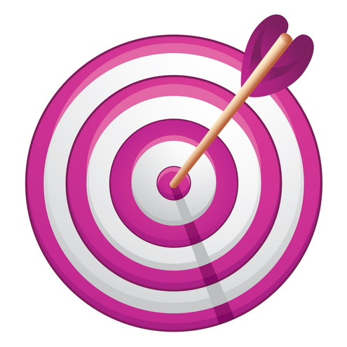 jpg transparent download Free picture of download. Bullseye clipart purple.