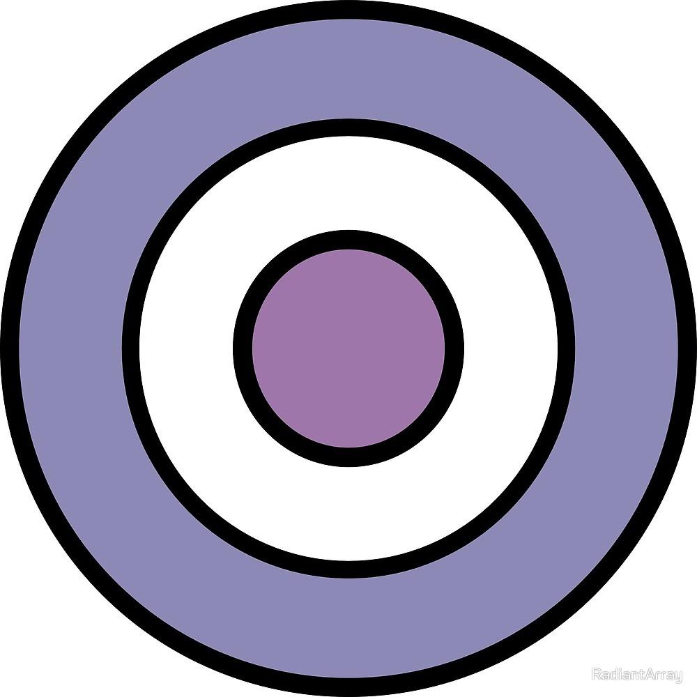 clipart transparent library By radiantarray redbubble . Bullseye clipart purple.