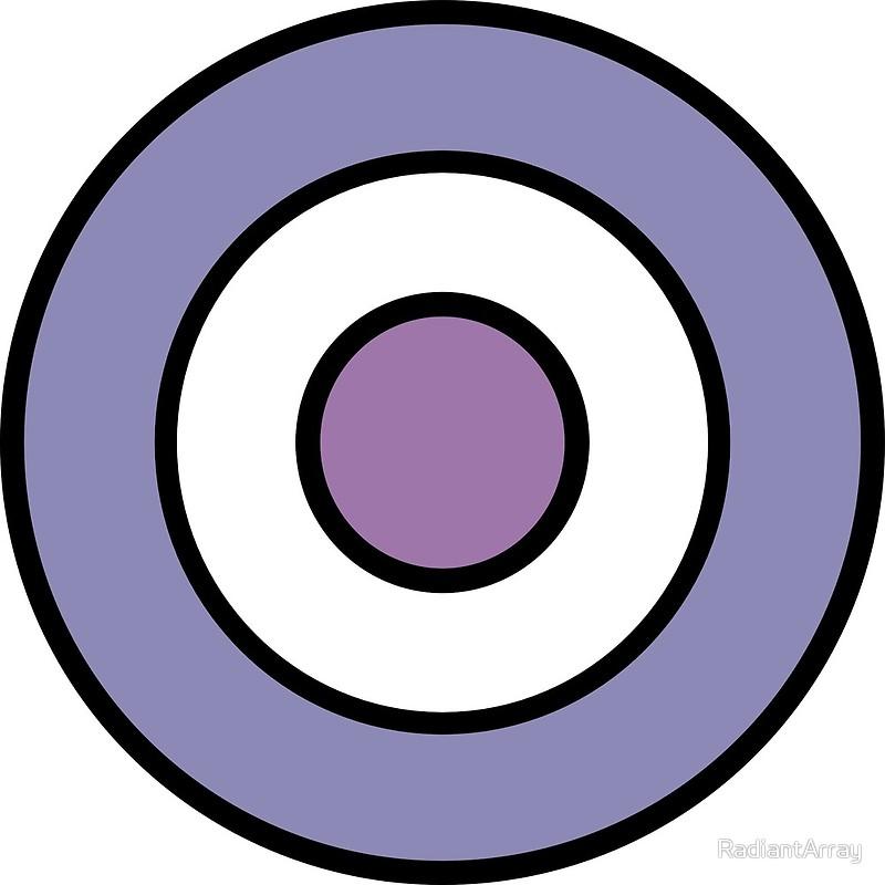 svg download Art print . Bullseye clipart purple.