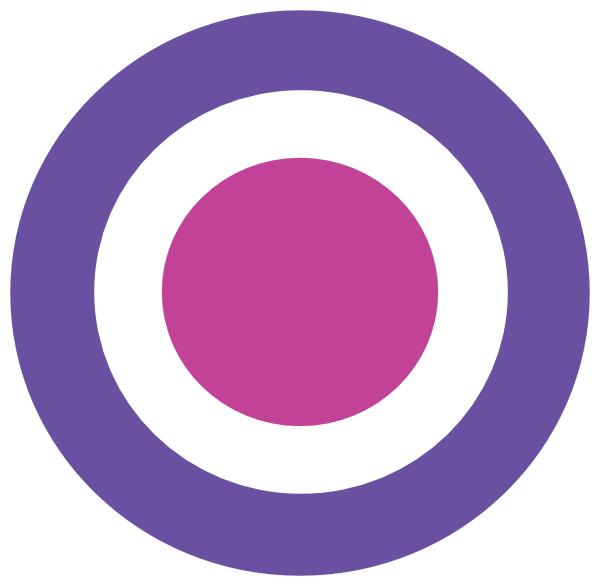 jpg black and white Final clip art at. Bullseye clipart purple.