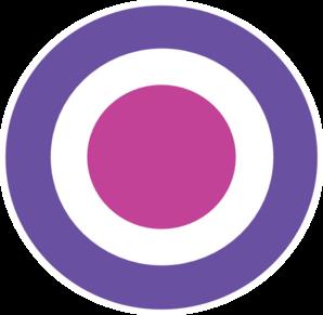 png freeuse Final clip art at. Bullseye clipart purple.