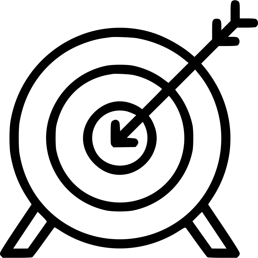 banner Bullseye clipart relevance. Archery arrow target olympics