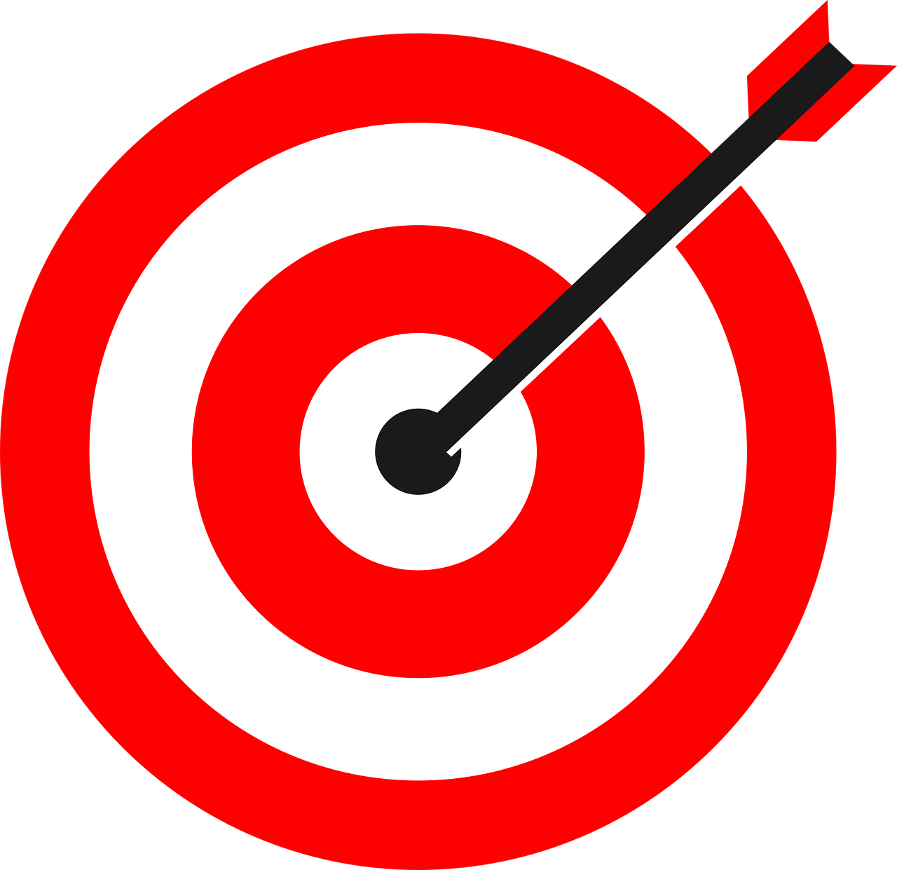 png freeuse download Bullseye clipart relevance. Demand local inc audience
