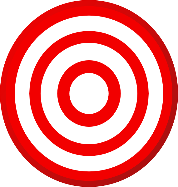 image stock Bullseye clipart target gun. At getdrawings com free.