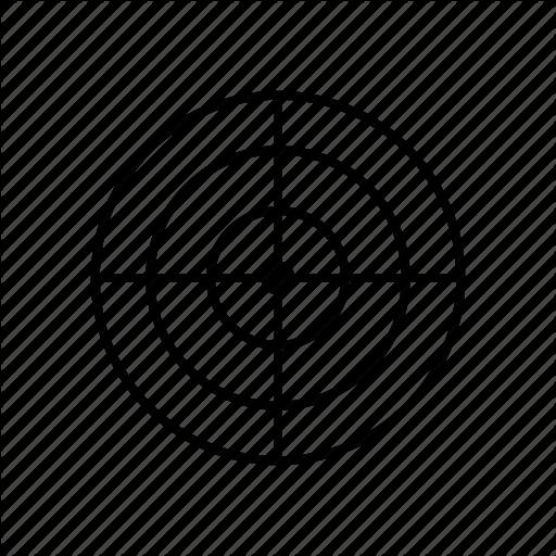 image free bullseye vector cross hair #91065251