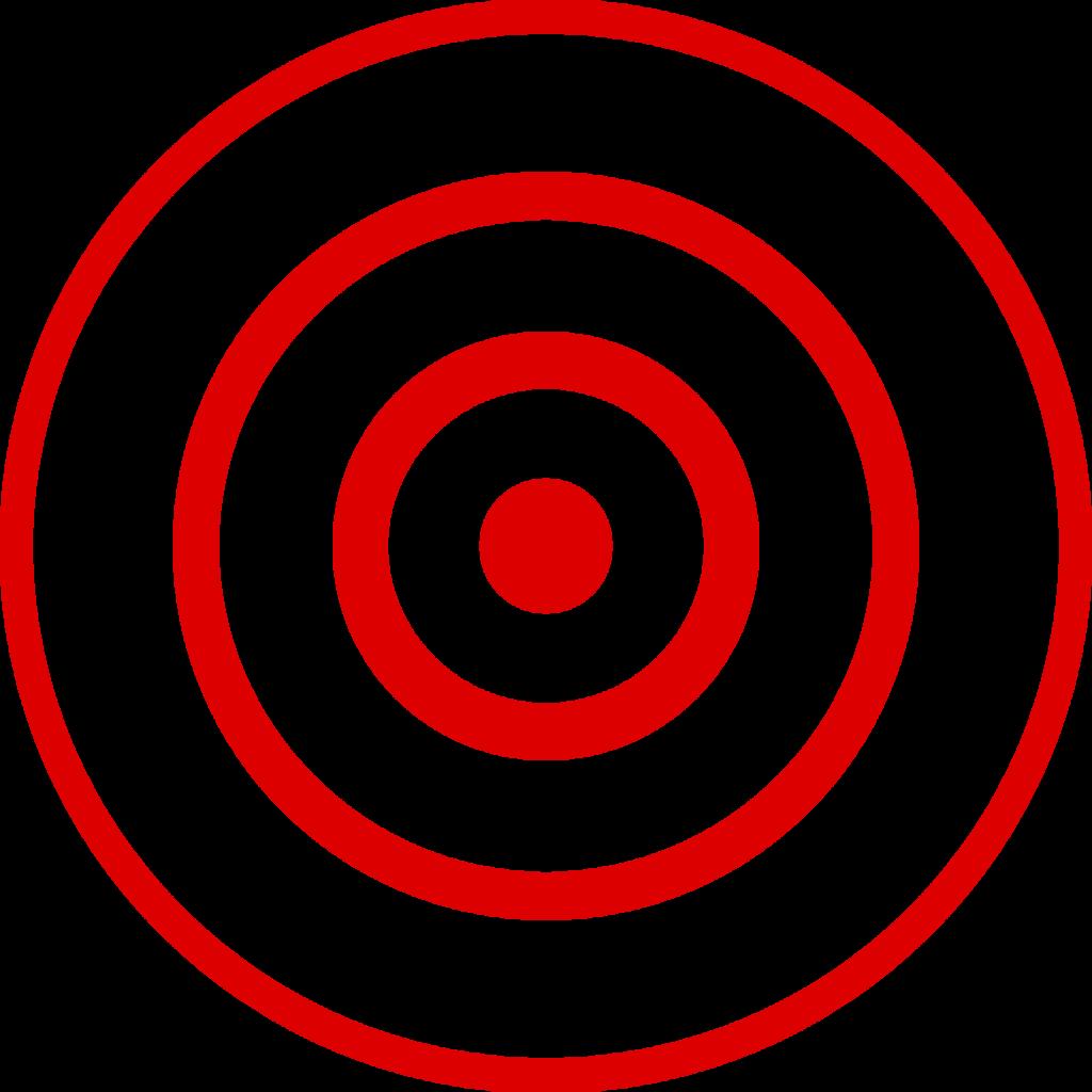 free stock Png bullseye