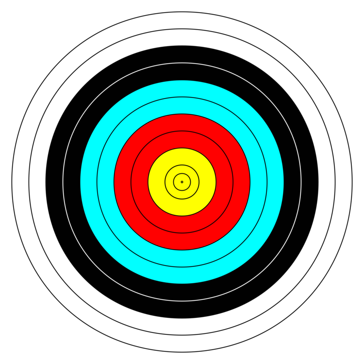 clipart library Target archery Shooting Targets Bow and arrow free commercial