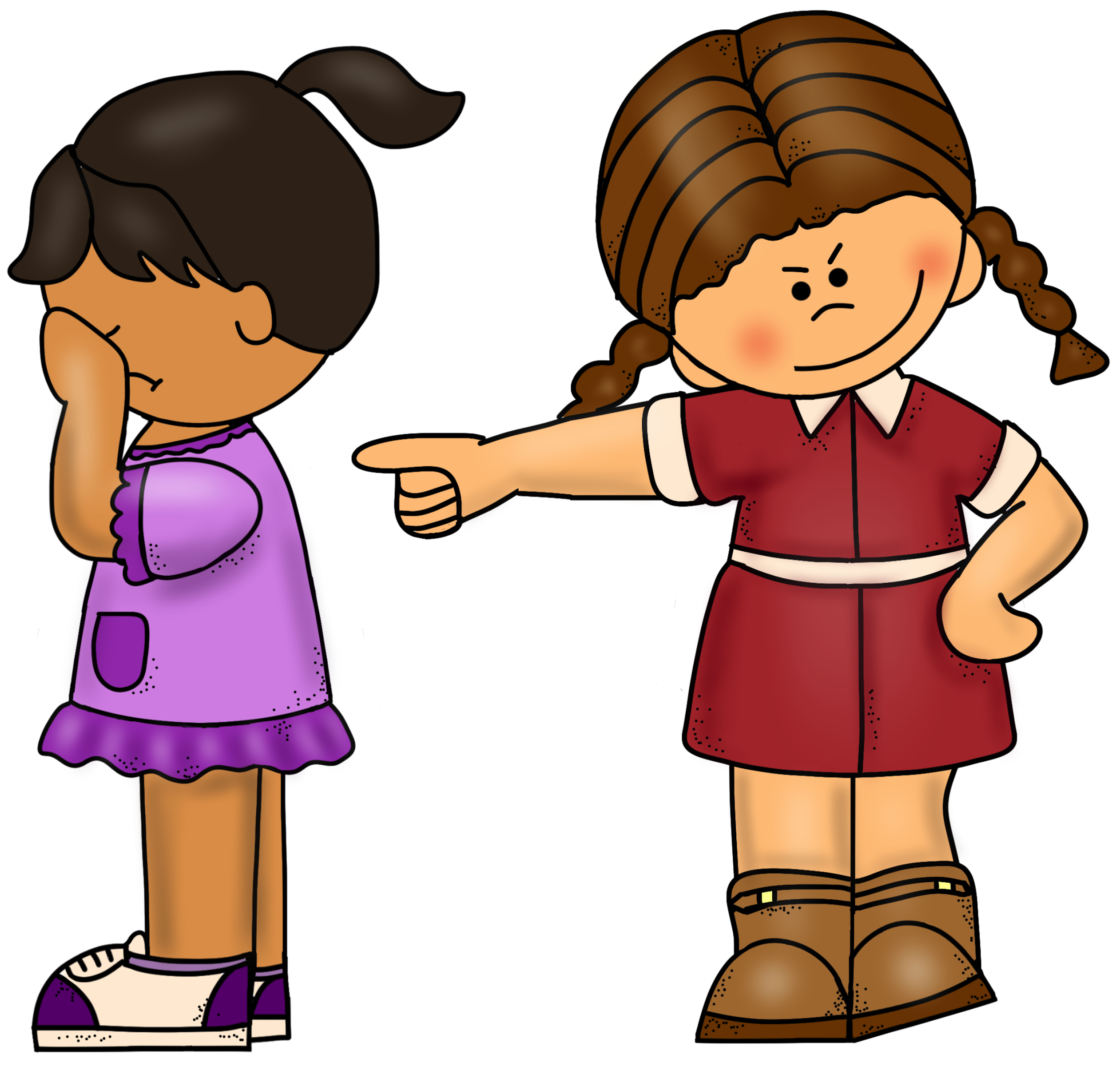 svg black and white Bullying clipart mean girls.  collection of bully.