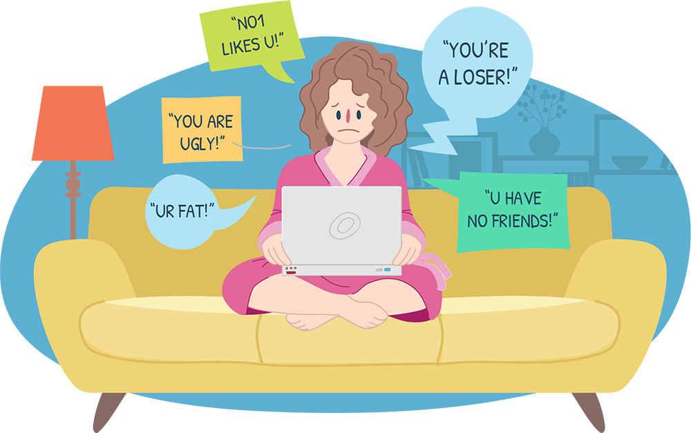 clip transparent library Bullying clipart internet safety. Cyberbullying information for parents