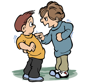 vector transparent Bully . Bullying clipart relational bullying