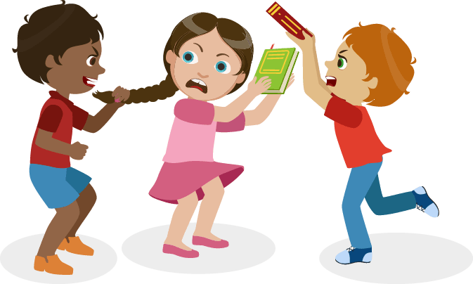 graphic transparent library Bullying clipart.  collection of png