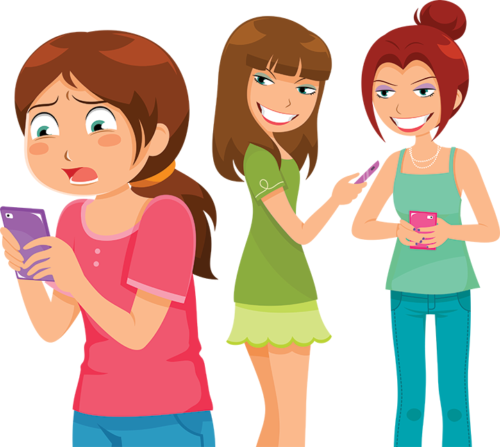 clip art library stock . Bullying clipart mean girls.