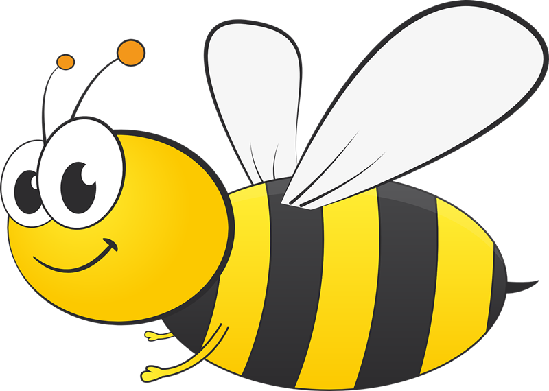 vector transparent Collection of free abought. Bees clipart