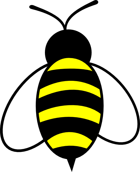 graphic black and white library Bumble bee cute clip. Bumblebee clipart.