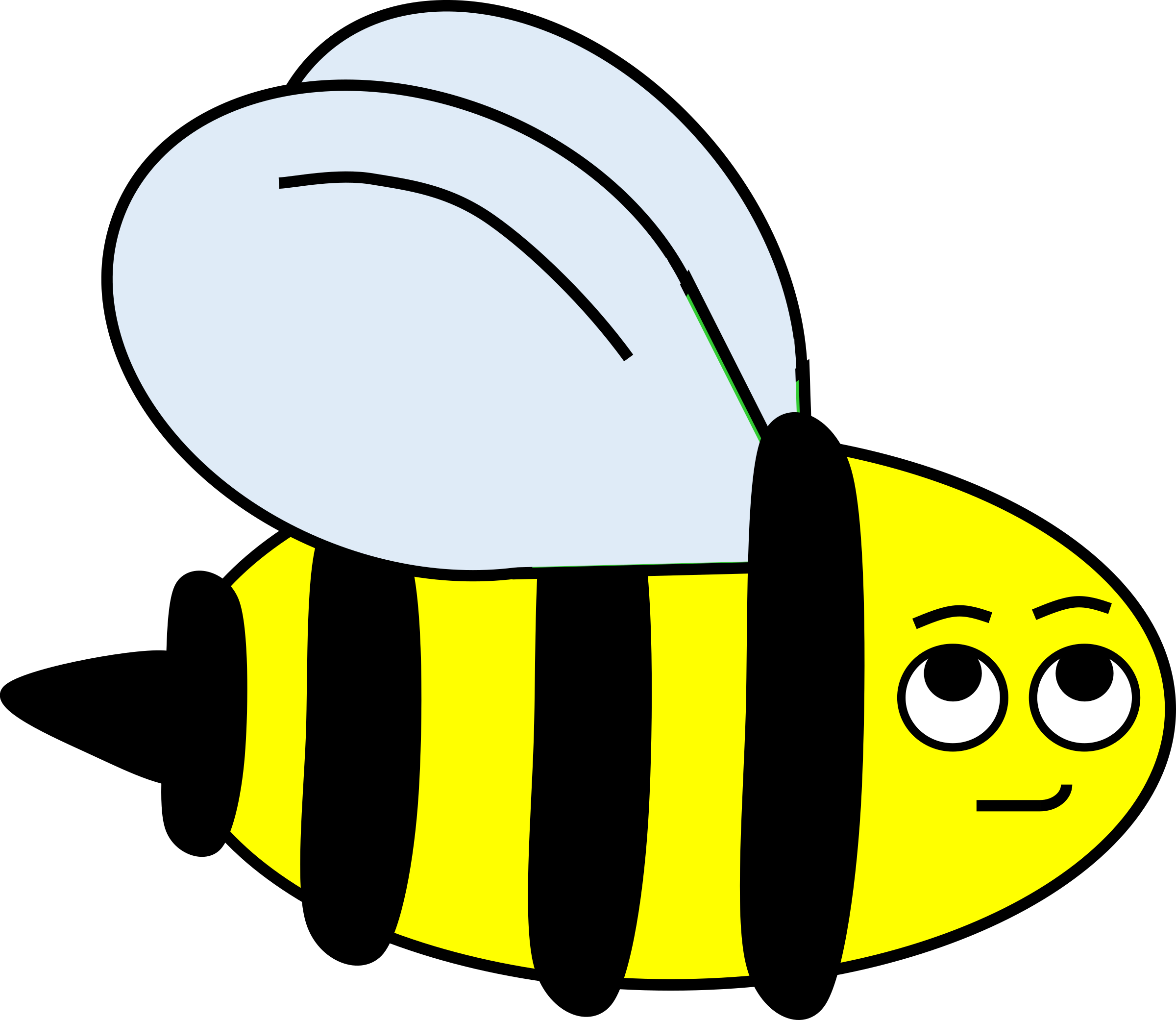 clipart library download Small bee free on. Bumble clipart