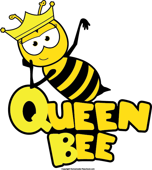 graphic freeuse stock Bumble clipart bee love. Cute queen panda free