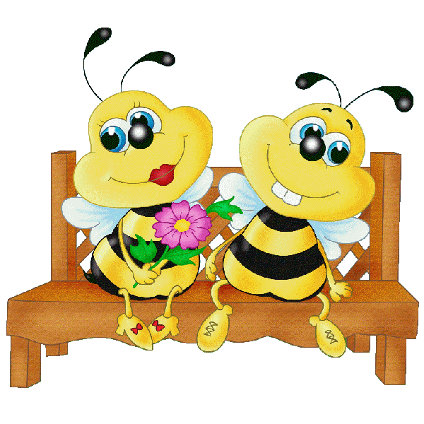 clip art freeuse library Valentine bees honey free. Bumble clipart bee love