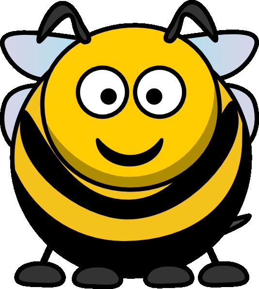 graphic royalty free library Cartoon clip art at. Bumble clipart big bee