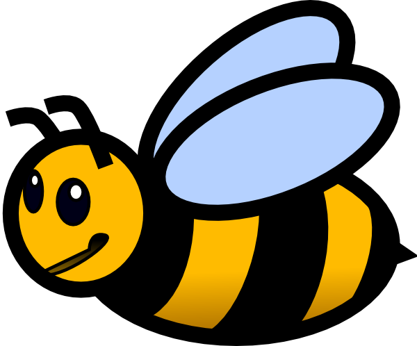 clipart library Small . Bumblebee clipart mean to bee