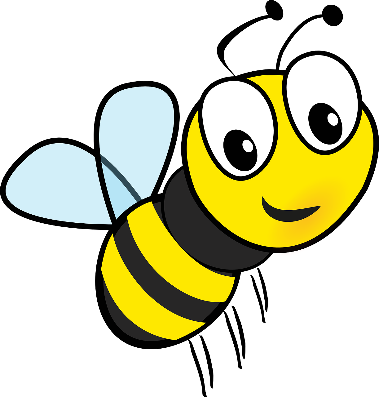 clip art freeuse download cartoon bee