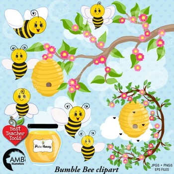 graphic free library Bumble clipart busy bee. Honey bees .