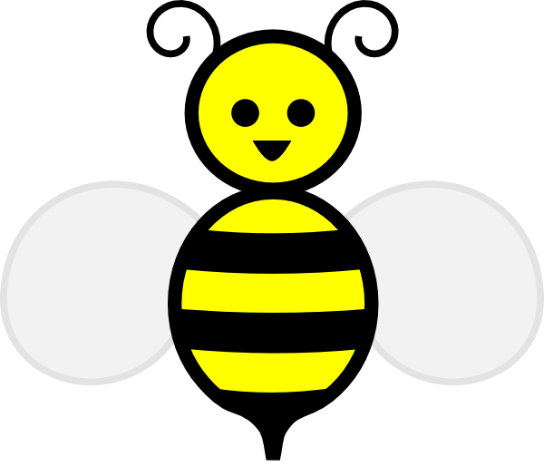 clip free download Bee outline best lds. Bumble clipart file