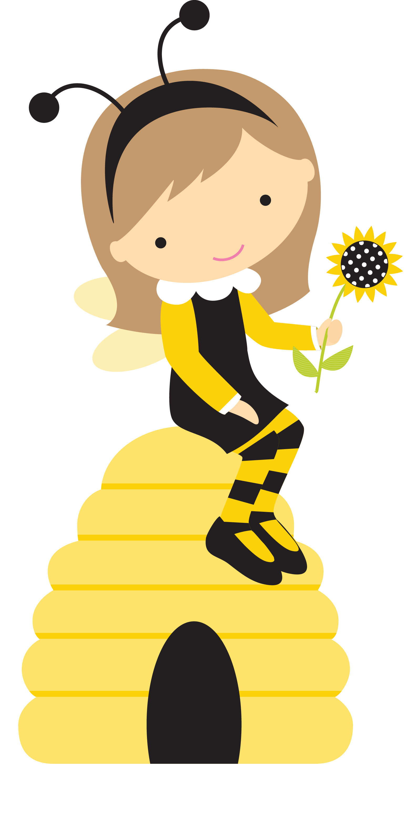 clip freeuse stock Bumble clipart girly. Imagens da abelhinha pinterest