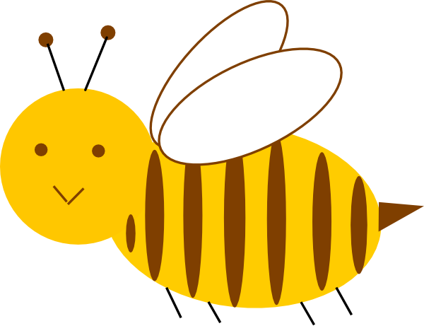 graphic royalty free Clip art at clker. Bumble clipart small bee