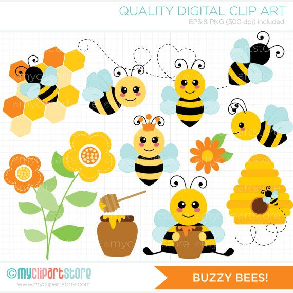 jpg stock Bumble clipart spring. Buzzy bees cute bee.