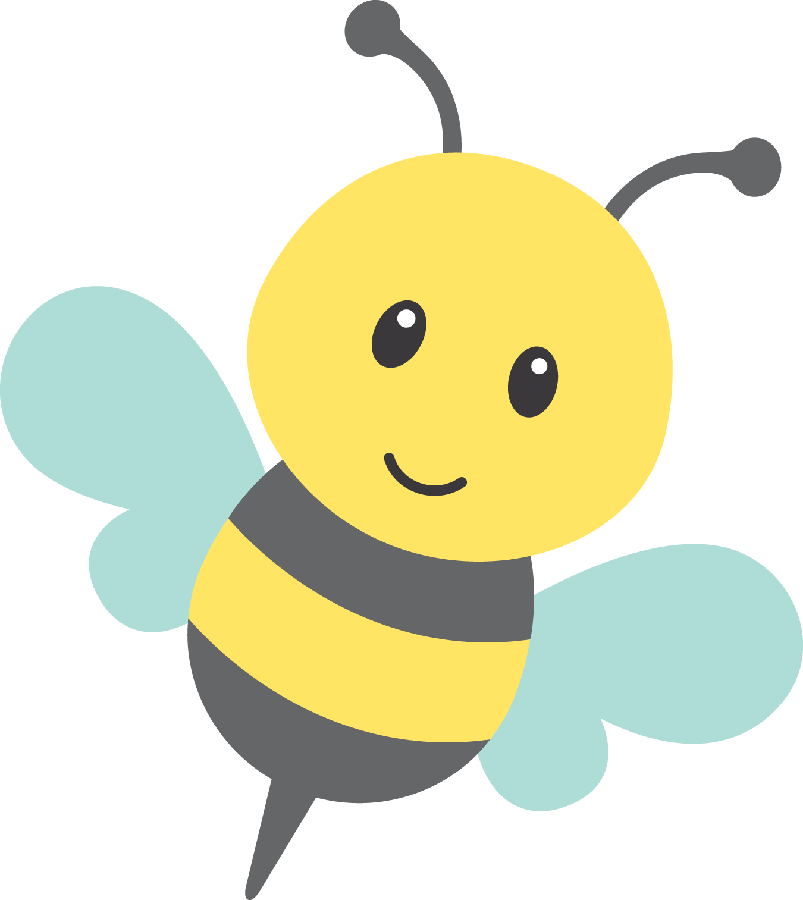 png library Bumble clipart spring. Minus say hello v